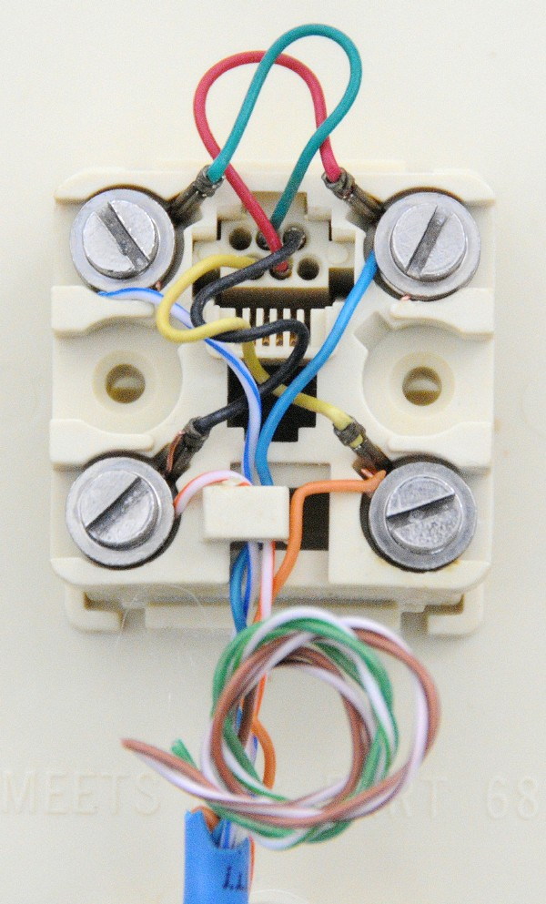 Old Phone Wiring Colors - Wiring Diagram Article on