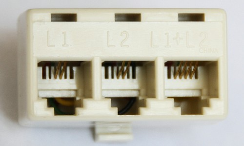 Phone Line L1/L2 Splitter
