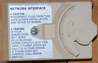 Network Interface inside house